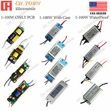 Controlador de LED de corriente constante 3W 10W 20W 30W 50W 100W impermeable alta potencia fuente