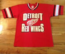 DETROIT RED WINGS SHORT SLEEVE  NHL  HOCKEY JERSEY  BY GTS YOUTH 14/16