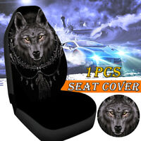 Universal Wolf Shape Polyester Car Seat Cover SUV Cushion Protector Comfortable