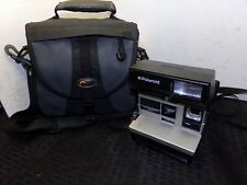 Polaroid Sun-600 Vintage Instant Camera, with LowePro Camera Bag SHIPS FREE!