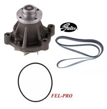 GATES Engine Water Pump & Belt & Gasket For 2008 FORD F-450 SUPER DUTY V10 6.8L
