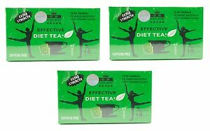 Royal King Extra Strength Diet Green Tea 3 Boxes (54 Tea Bags) New & Sealed