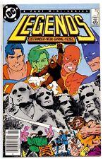 1)LEGENDS #3(1/87)1:NEW SUICIDE SQUAD(BATMAN/FLASH/SUPERMAN)NEWSSTAND(CGC IT)9.6