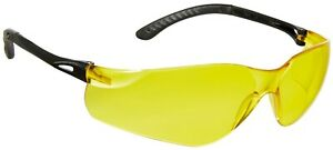 Spire Memphis, Amber Lens, Lightweight Safety Glasses (Pack of 3, 6 or 12 Pairs)