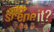 BRAND NEW! Seinfeld Scene It? DVD Trivia Game About Seinfeld Clips Adult 2  More