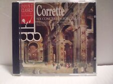 Corrette: Six Concertos for Organ (CD, Oct-1997, Point Classics) L N