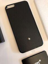 NEU MONTBLANC Leder iPhone 6 Plus Hülle Hardphone Case Cover NP200€ 115159 -1853