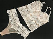 Victoria's Secret Dream Angels CORSET Bustier Set 36C
