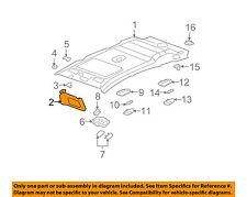 GM OEM Sunvisor-Sun Visor Left 25954547