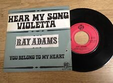 45 tours Ray Adams Hear my song Violetta 1970 EXC