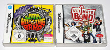 2 Nintendo DS juegos-Jam with the band & Ultimate Band