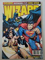 WIZARD COMICS MAGAZINE #82 JUNE 1998 ORIGINAL HOWARD PORTER JLA COVER ART
