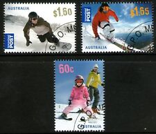 Australia 2011 Skiing set of 3 Cancelled to Order