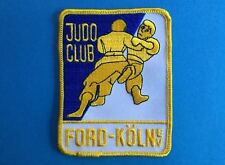 Rare Vintage Judo-Club Ford-Köln e.V. Germany Martial Arts MMA Gi Patch 520