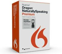 NUANCE Dragon Naturally Speaking Premium 13 w/Digital Recorder & Headsets w/Mic