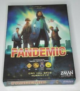 Pandemic Board Game Complete