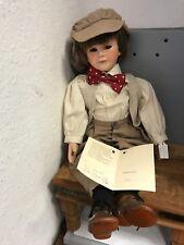 Il Kase Lepp bambola di porcellana 58 cm. con certificato. Top Condizione