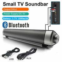 Barre de Son haut-parleur Bluetooth Soundbar Cinéma TV Surround Sound Speaker