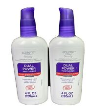 Lot of 2 Equate Dual Power Moisturizer 4 oz each Exp 01/2021 Salicylic Acid Acne