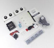 Genuine Audi A4 B8 Monza Plata LX7V Sensor De Reversa Pintado Trasero de estacionamiento de ayuda Kit