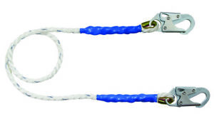 FallTech 8156  6' Restraint Lanyard Rope with Snap Hooks