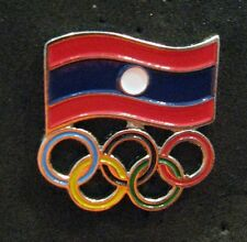 LONDON 2012 Olympic LAOS NOC Internal team delegation  pin