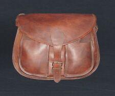 Indian Real Genuine Leather Vintage Messenger ladies Shoulder Hippie  Bag tote