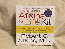 The Essential Atkins for Life Kit Tools Tips Techniques Low Carb Weight Loss