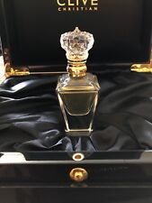 Genuine Clive Christian No. 1 Men Pure Perfume Crystal Bottle, Diamond 24K