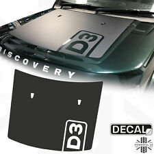 Bonnet decal sticker kit for Land Rover Discovery 3 LR3 hood anti reflective D3