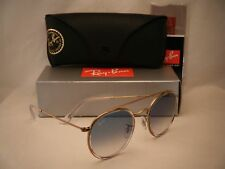 db445ff349 Ray Ban 3647N Round Double Bridge Copper w Clear Blue Gradient (RB3647M  90683F)