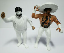 HAKUSHI & SHINJA - WWE WWF WCW Custom Classic Vintage LJN Hand Painted Figures