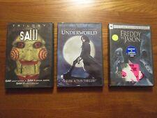 Horror Dvd Lot: Saw Trliology, Freddy Vs. Jason, Underworld