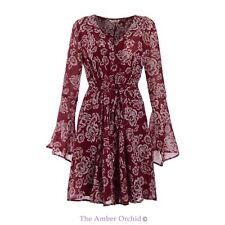 Chiffon Plus Size Floral Dresses for Women
