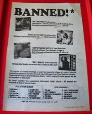 Peel Sessions Charts Ban Vintage ORIG 1992 Press/Mag ADVERT Strange Fruit/John