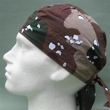 Corte De Bandana, marrón Beige Camuflaje del desierto, cabeza Abrigo Sombrero de sol, du hacer RAG de la PAC