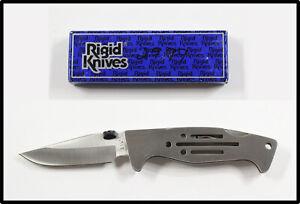 Vintage RIGID JAPAN RG-23 folding knife UNUSED in box NICE LOOK