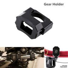22-28.6mm Handlebar Mount Motorcycle Speed Gear Display Indicator Holder Bracket