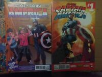 Captain America #25 1st Sam Wilson bullying 1:15 Variant All new Captain #1