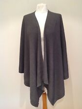 EILEEN FISHER LADIES GREY 100% WOOL CARDIGAN SIZE XS