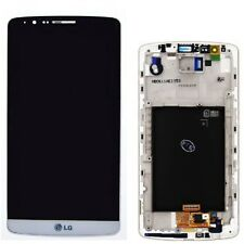 LCD LG G3 Display + Touch Screen + Frame D850  D851 D855 VS985 BIANCO g3 NUOVO