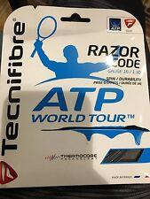 Tecnifibre ATP Razor Code Tennis String 16 Gauge Carbon, 4 Sets