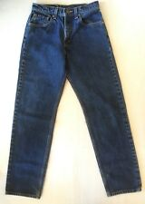 Vtg USA Levis 555 Relaxed Fit Blue Jeans Size 7 27x31 Mom High Waist 550 Levi's
