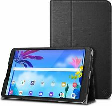 Case for LG G Pad 5 10.1 FHD Premium Vegan Leather Stand Cover Auto Sleep/Wake