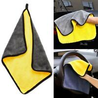 Car Cleaning Towel Washing Cloth Rag Dry Microfiber Ultra Absorbent Soft New SO