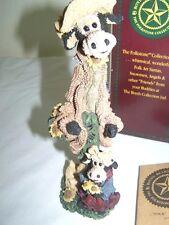 NIB Boyds Bears Folkstone Cow Figurine Isa Bessie The Gardener's
