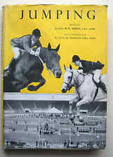JUMPING 1954 1st ed M P Ansell H M Llewellyn show dressage BSJA HB VGC horse
