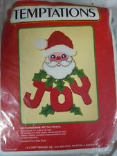 Temptation Christmas Joy Wall Hanging Kit