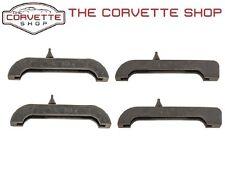 """C3 Corvette 2 5/8"""" Radiator Mount Rubber Cushion 4pc Upper & Lower 1976-82 52211"""