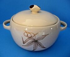 Vintage Winfield Fine China Passion Flower Design 1 1/2 qt Covered Casserole